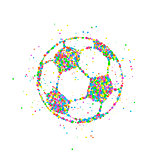 Soccer ball Abstract