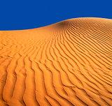 Sandy dune.