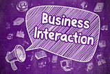 Business Interaction - Business Concept.