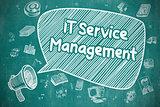 IT Service Management - Business Concept.