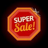 Stop symbol super sale sticker