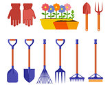 garden isolated equipment