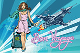 Bon voyage space travel, space tourism