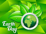 abstract artistic green earth day
