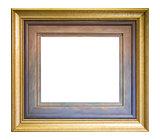 Frame isolate on white