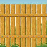 Wooden fence, seamless