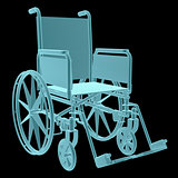 X-Ray Image Of Wheelchair
