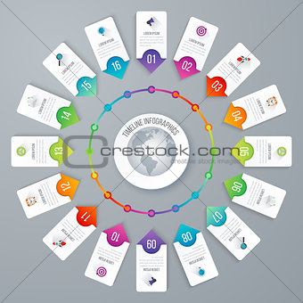 Business infographic. Vector illustration.