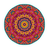 coloful round mandala design