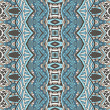 Ethnic folk seamless pattern.