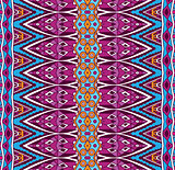 seamless ethnic geometric pattern
