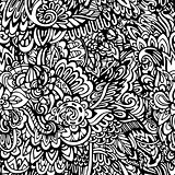 coloring page seamless pattern