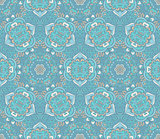 damask luxury seamless vector pattern background