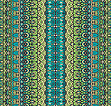 ethnic striped seamless tribal pattern