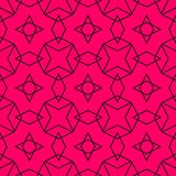 Tile vector pattern or pink and black wallpaper background