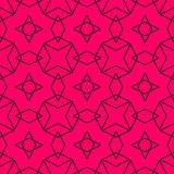 Tile vector pattern or pink and black wallpaper background