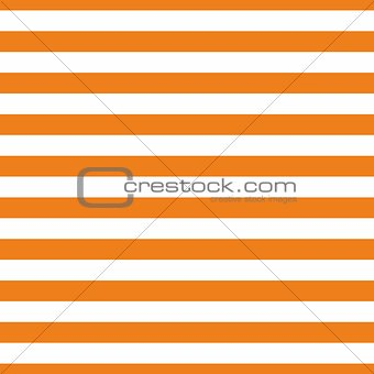 Tile vector pattern with orange and white stripes background