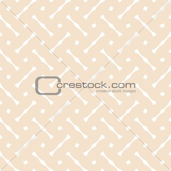 Tile white and pastel vector pattern