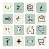 Doodle vector icons