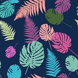 Colorful leaf background, eps10 vector