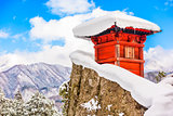 Mountain Temple Japan