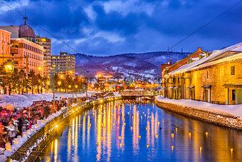 Otaru, Japan Winter Illumination