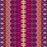 Abstract festive colorful tribal ethnic pattern
