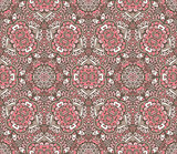 cute vintage seamless pattern