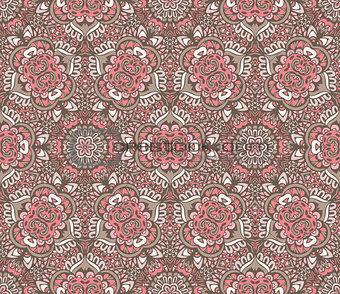 cute vintage seamless pattern