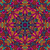 colorful seamless pattern mandala design