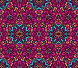 floral fantasy pattern