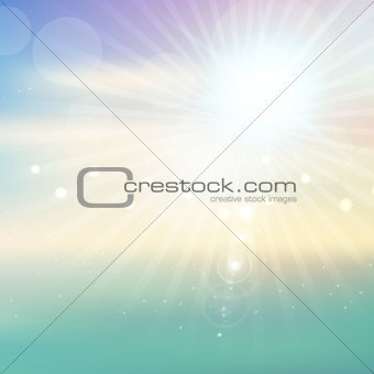 Abstract starburst background