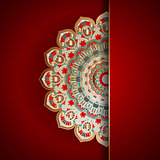 Luxury mandala background
