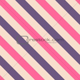 Tile pink and violet stripes vector pattern