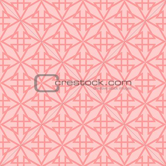 Tile vector pattern with pink background