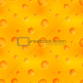 Bright tasty yellow cheese seamless pattern