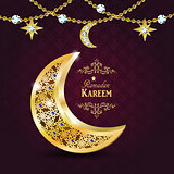 Ramadan greetings vector