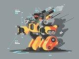 Exoskeleton innovative robot