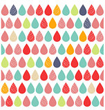 Abstract colourful vector background with rain