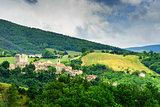 View to village Gagliole