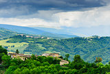 Typical landscape Marche