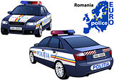Romania Police Car