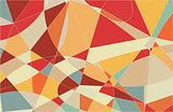 Pastel Colors Mosaic Pattern Stock Image