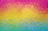 Flat 2D multicolor abstract triangle shape background