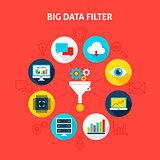 Concept Big Data Filter