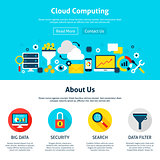 Cloud Computing Web Design