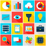 Big Data Colorful Icons