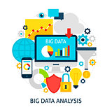 Big Data Analysis Flat Concept