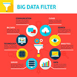 Big Data Filter Infographics