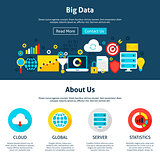 Big Data Website Design